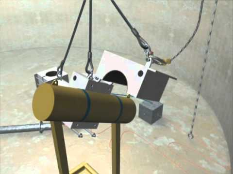 Underwater Rigging & Lifting Animation - National Hyperbaric Centre