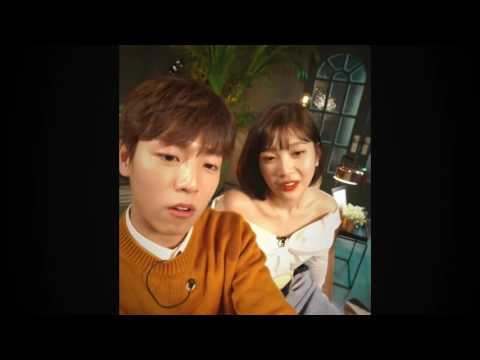 Lee Hyunwoo ♥ Joy Red Velvet - Eye Contact Moment Cut (The Liar And His Lover)