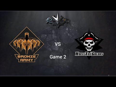 Paragon Competitive League #10 - Bronze Army vs Hoist the Colors Game 2