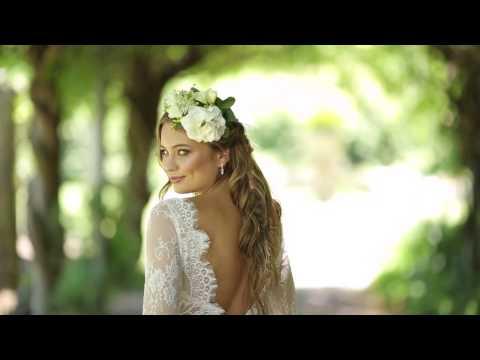 Behind The Scenes of Modern Wedding Magazine's 'Enchanted Garden' Bridal Fashion Editorial
