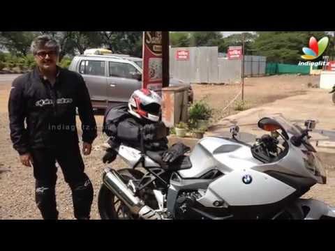 stunning bike race scenes of ajith | gautham menon movie | hot
