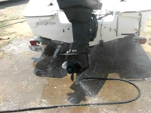 Repeat 1996 Force 90 HP 2 Stroke Outboard Motor by