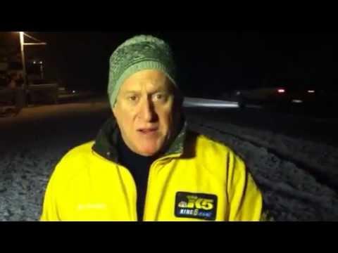 Jim Forman in snow