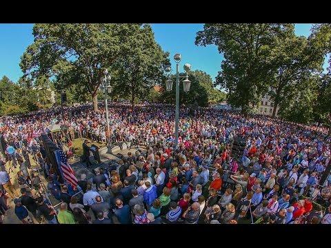 50 state Decision America Tour final prayer rally - Raleigh NC 2016