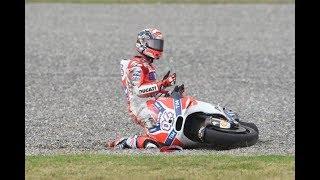 Dovi Crash, Zarco Crash, Marquez Winner MOTO GP Lemans 2018.