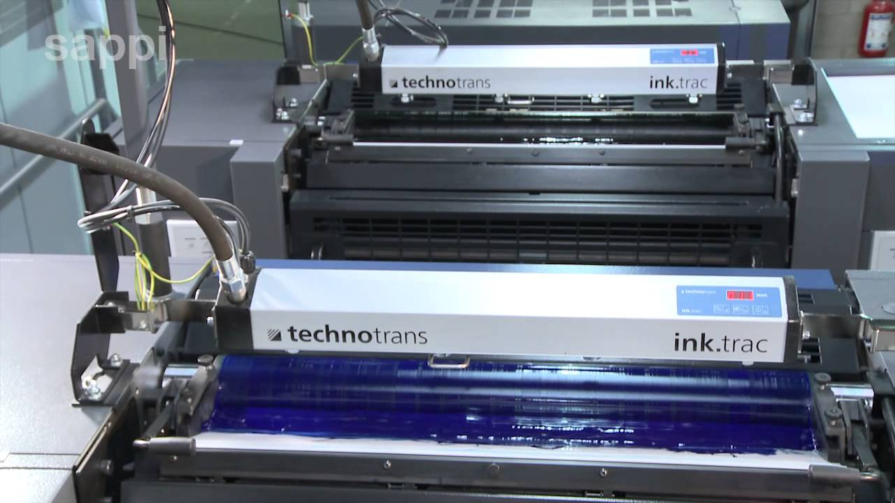 The Printing Process Sheet Offset Press English Youtube Diagram Of As Well