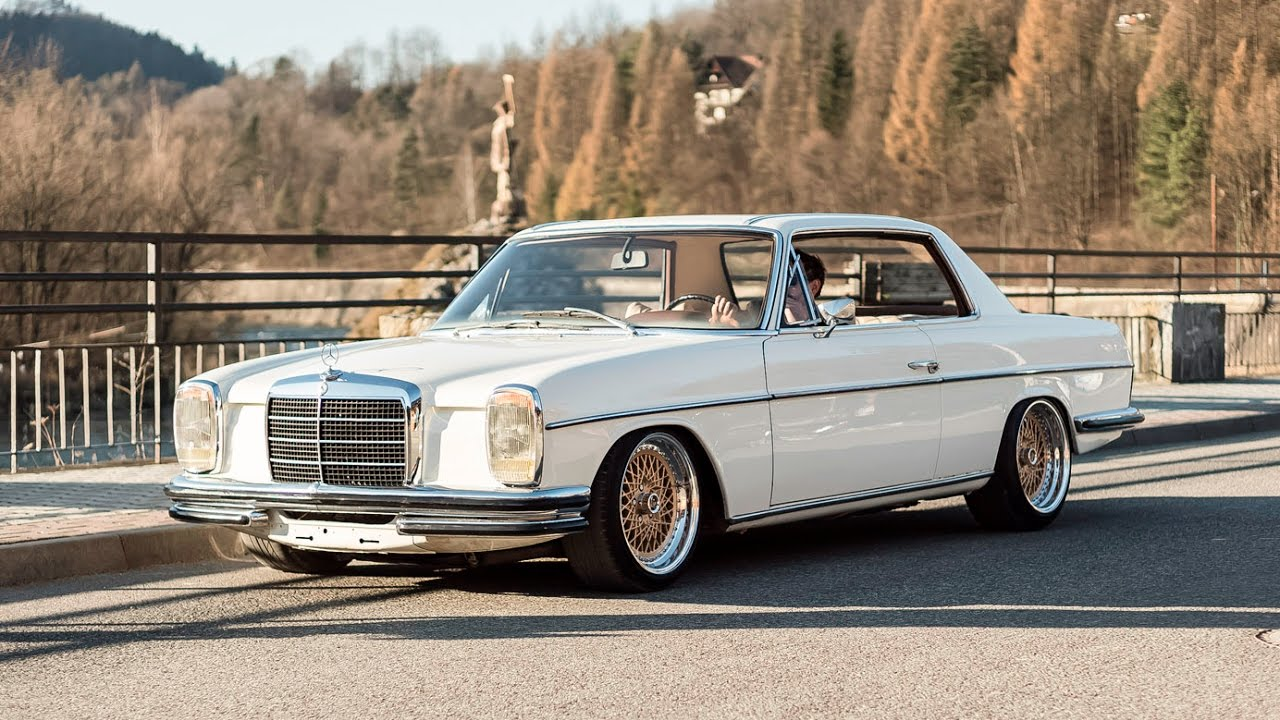 mercedes w114 coupe 1970r engine m104 r6 custom