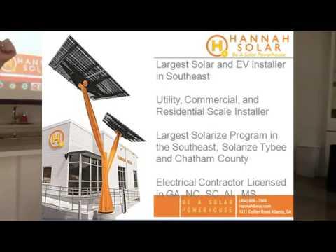 Hannah Solar Residential Solar Presentation at Serenbe