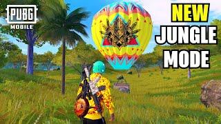 PUBG MOBILE NEW UPDATE: New Jungle Adventure Mode in Sanhok | Hot Air Balloon | PUBG Jungle Mode