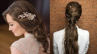 CUTE & EASY Hairstyles , Most Beautiful Hairstyles |How To Style For Own Hair #2