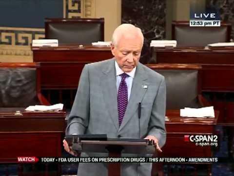 Senate Session 2012-05-22 (15:19:57-16:26:58)