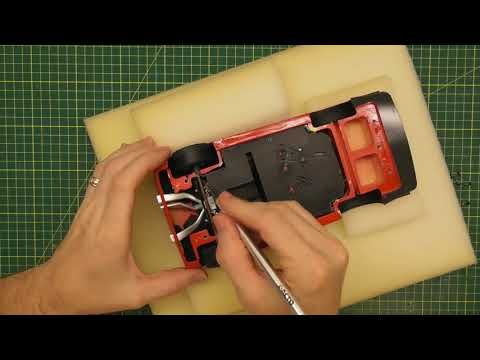 HOW TO CHANGE THE WHEELS ON A RESIN MODEL