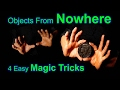 Out of Nowhere: Easy Production Magic Tricks