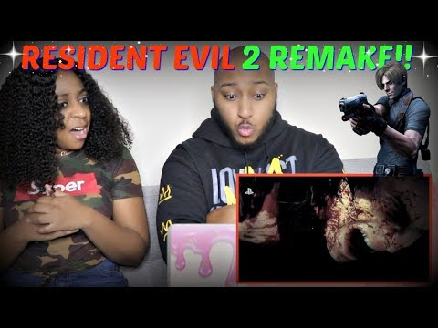 """Resident Evil 2"" Remake Reveal Trailer E3 2018 REACTION!!!"