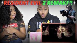 """""""Resident Evil 2"""" Remake Reveal Trailer E3 2018 REACTION!!!"""