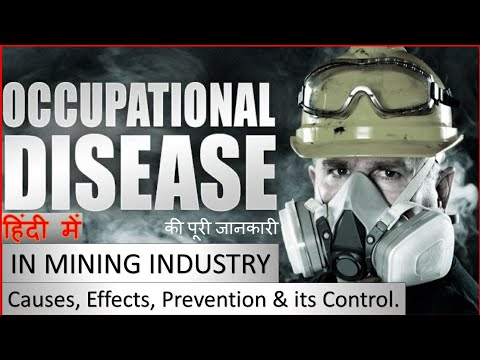 occupational-disease-|-mining-industry-|-coal-mining-|-causes,-effects,-prevention,-control-|
