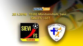 20.1.2018 Sievi FS vs. GFT  klo 15.00 Futsal Liiga
