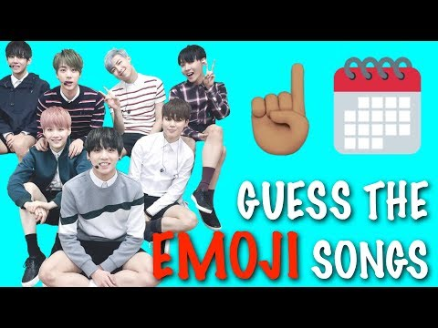 EMOJI CHALLENGE ★ Guess the BTS Songs