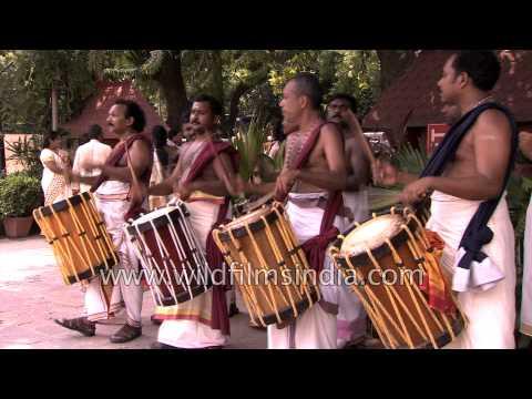Chenda melam - drum beats from Kerala