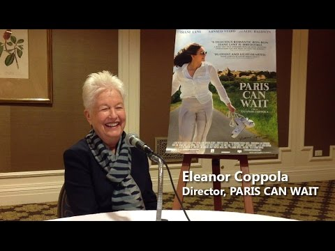 Writer/director Eleanor Coppola on PARIS CAN WAIT (2017) - Celluloid Dreams