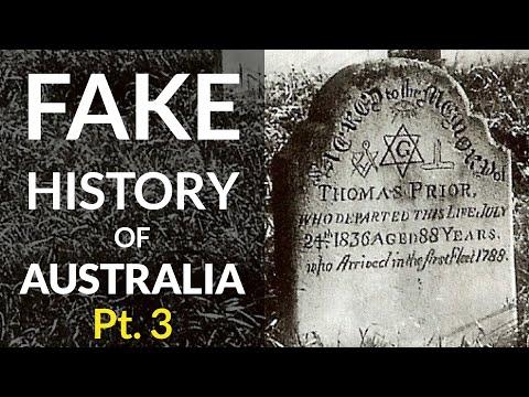 Fake History of Australia: Pyramids, Hieroglyphs, Relocated Church & Mud Flood Proof