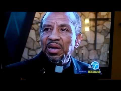 Fidel Lopez and Rev. Bennie Newton_ Anniversary of the LA Riots