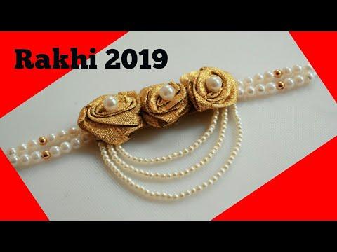 Rakhi making at home || raksha bandhan 2019
