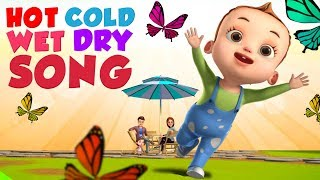 Hot & Cold Song For Kids | Baby Ronnie Rhymes | Videogyan 3d Rhymes | Nursery Rhymes & Kids Songs
