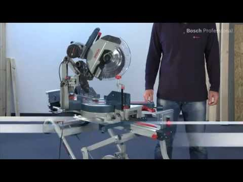 Scie à Onglets Radiale ø 305mm 2000w Gcm 12 Gdl 2000w Bosch