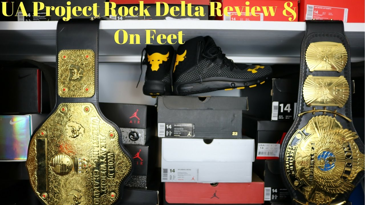 under armour project rock. under armour project rock delta review and on feet! h
