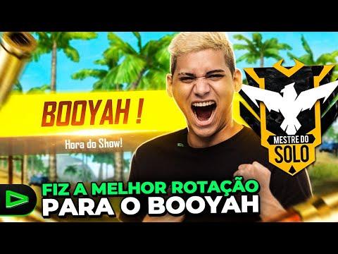 BOOYAH CAMPEONATO MESTRE DO SOLO!!