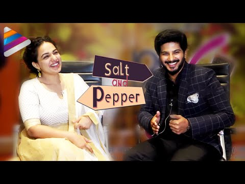 Nithya Menen & Dulquer Salmaan Open Up on Marriage | Salt & Pepper | Interview | 100 Days Of Love