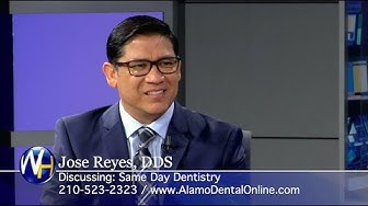 Same Day Dentistry & Dental Implants with San Antonio, TX dentist Dr. Jose Reyes