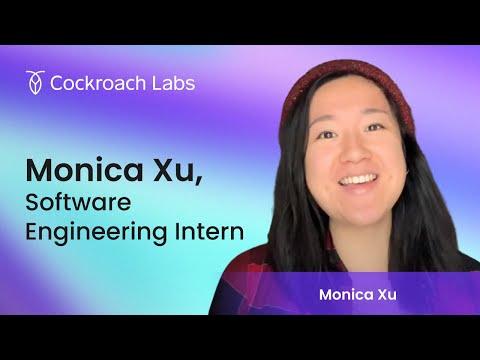 Roacher of the Week: Monica Xu, Software Engineering Intern