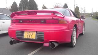 1994 Mitsubishi GTO 3.0 Twin Turbo V6 sound