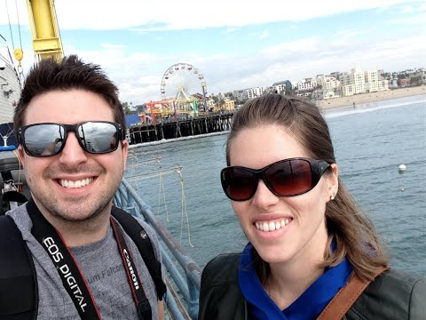 SANTA MONICA & GRIFFITH OBSERVATORY VLOG! - Day 8 - JAN 30 -GRAND CALIFORNIA ADVENTURE TRIP 2015