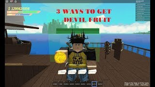 Comment obtenir Devil Fruit's Fast?! | Conquête des Pirates (fr) Roblox