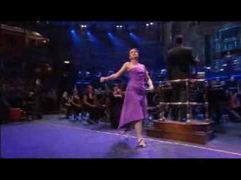 Caroline sings Broadway Baby for Stephen Sondheim's 80th Birthday concert Royal Albert Hall London