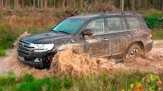 Toyota Land Cruiser 200 - Offroad тест и изменения в модели 2017