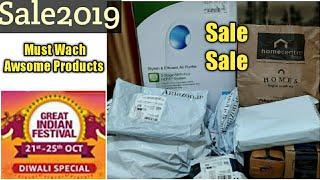 Amazon Great Indian Festival Sale / Home Centre Shopping।  Indian Festival Sale AmazonShoppingHaul