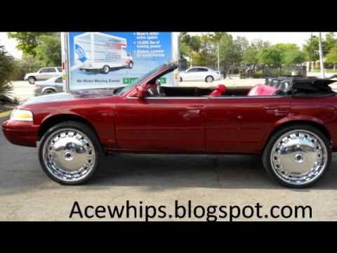 Convertible Ford Crown Vic On 26 Dub Opera Floaters
