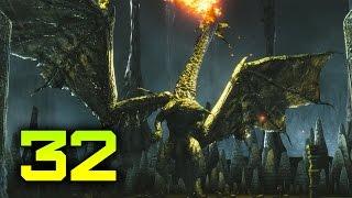 [Dark Souls 2: Scholar of the First Sin #32] Убежище дракона - Син, Дремлющий дракон. Пещера мертвых