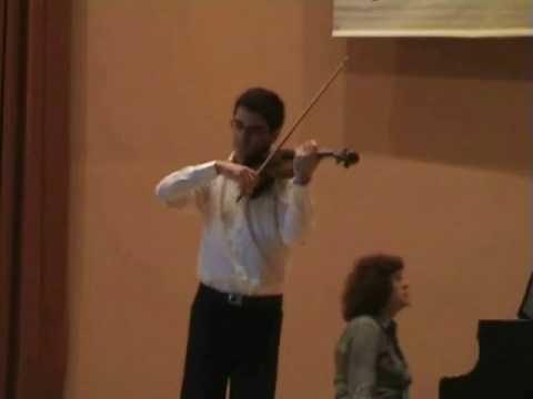 Mendelssohn: Violin Concerto (1° mov. pt.2/2) - Pedro Barreto