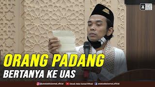 ORANG PADANG BERTANYA KE UAS | Tanya Jawab Kajian Subuh Masjid Mujahidin, Kota Padang | 23.12.2020