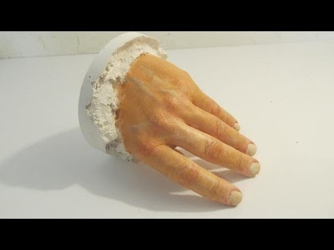 How to Make a Plaster Cast of your Hand - YouTube