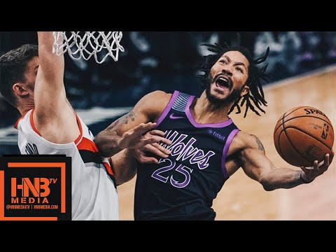 Minnesota Timberwolves vs Portland Trail Blazers Full Game Highlights | 11.16.2018, NBA Season