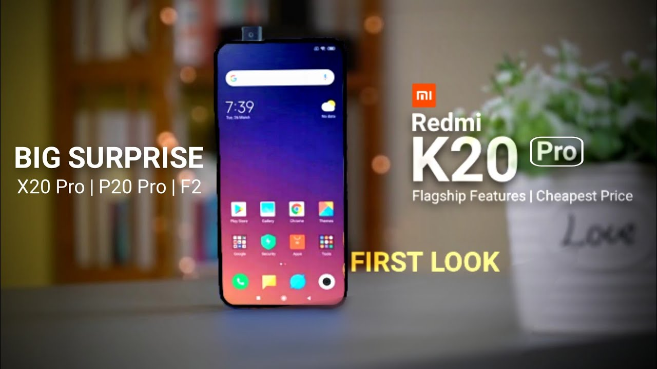 Redmi K20 Pro Full Specification Price Amp Launch Date In