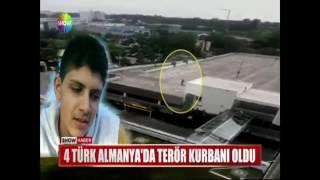 4 Türk Almanya'da terör kurbanı oldu