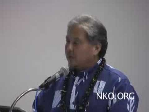 Senator Kokubun at Maui Sustainable Living Expo 2008
