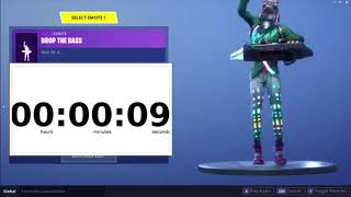 Drop The Bass EMOTE (en anglais seulement) 5 Minutes Fortnite Bataille Royale